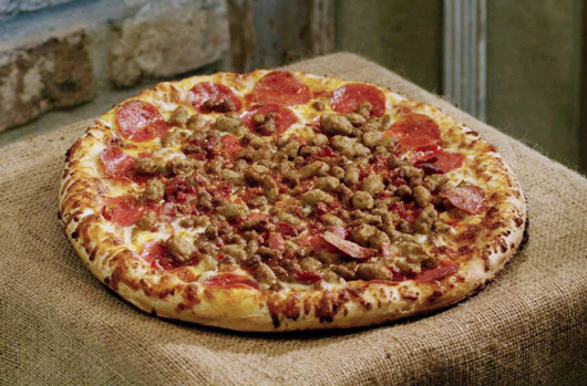 Lil Lee's Pizza All Meat